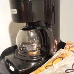 The coffee maker in the room