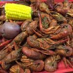 Amazing local joint for the best crawfish around. We also had the boudin, steamed shrimp & the p