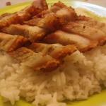 Nasi Hainam Panggang Babi BBQ Kencana