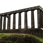 Scottish Monument at the top of Calton Hill