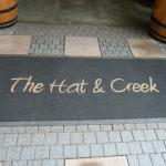 Entrance to Hat and Creek