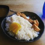 Tofu curry with rice