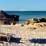 Praia da Coelha (Rabbit Beach) a short walk away