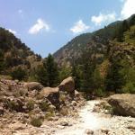 Samaria Gorge National Park Foto