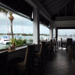 Upstairs bar at Curly Tails, Marsh Harbor, Bahamas