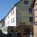 Blick auf das Hotel und die Maximilianstube