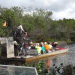Gator park Airboart Ride