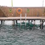 Pileta que da al mar