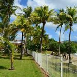 la plage devant la résidence