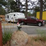 Campsite #167 at the Flagstaff KOA