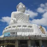 Großer Buddha von Phuket Foto