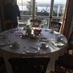 Desayuno con unas bonitas vistas