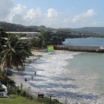 Beach at St James Club St Lucia