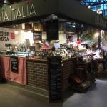 Bilde fra Via Italia - Mathallen