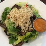 Quinoa portobello salad