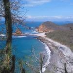 Playa La Tortuguita, camino a Playa Los Frailes