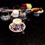 turkish coffee in the lobby