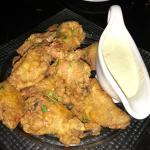 "ORDER the ""Habanero Wings"" non-greasy, super flavorful with the perfect crunchy texture. The Gor"