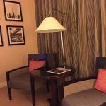 Sofitel - sitting room area