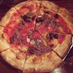 Pizza napolitana en Buenos Aires