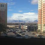 Mi vista desde la habitación B.