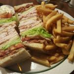 Awesome club sandwich