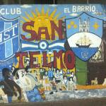 Mural ubicado en Chacabuco y Av. Independencia