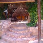 front entrance amar inn band b puerto morelos beach hotel
