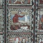 Detail Holzdecke