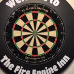 Darts available at the Fire Engine Inn