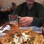 Nachos y cerveza, nuncan fallan