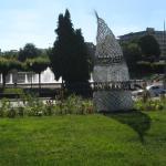 Parc avoisinant le site de la gare de Limoges-Bénédictins