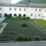 Klostergebäude und Garten