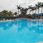 una delle tre piscine
