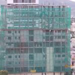 вид с лоджии с 10 этажа отеля