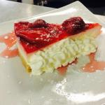 Strawberry cheesecake!!