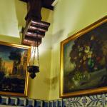 Área interna do restaurante