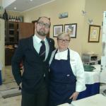 Con la Chef Cristina Lunardini