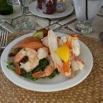 Fresh fish and AntePasta
