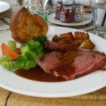 Superb Roast Beef and Yorkshire Pudding