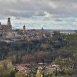 Vistas de Segovia desde la habitación