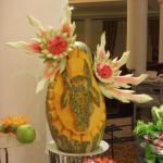 Sehr schöne Dekoration im Buffet Restaurant