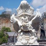 Model for Vishnu-Garuda Statue in GWK grounds