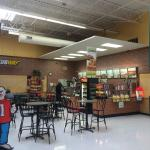 Subway inside Walmart