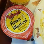 The honey mustard