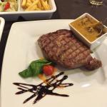 Amazing food at the Bad Bull