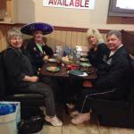 Celebrating moms birthday 2013