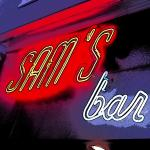 Neon Sign for Sam's Pizza on Newton in East Hampton