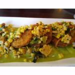 fried green tomato appetizer
