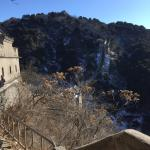 Great Wall at Mutianyu - looking up from tower 5 towards 1